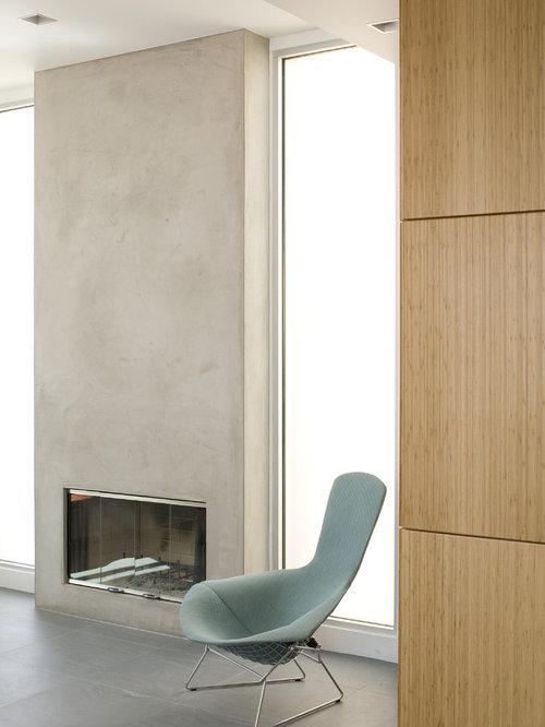Plaster Fireplace Houzz