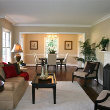 Traditional Living Room Meadowbrook Drive - Sold in 2 days