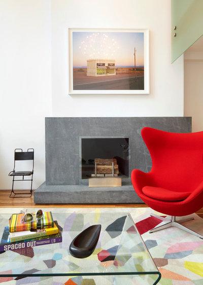 Modern Wohnbereich by Axis Mundi