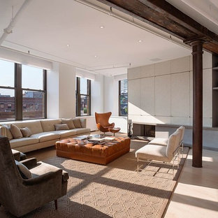 Meatpacking Loft:  living room