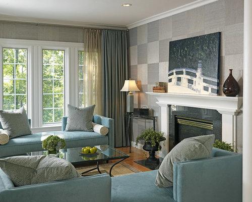 Grey And Aqua Living Room aqua and grey living room design ideas, remodels & photos   houzz
