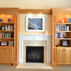 Traditional Living Room by Dale's Remodeling