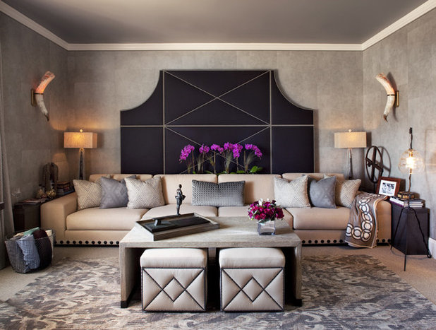 Eclectic Living Room by Amy Weaver