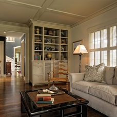 Traditional Living Room by Paula Devon Raso Interior Design