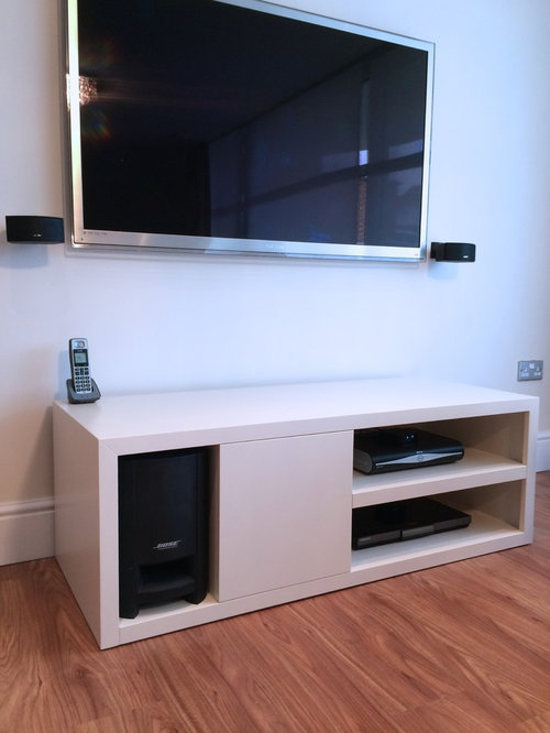 Media Console And Display Cabinet