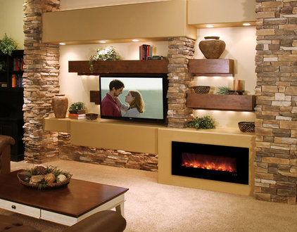 Contemporary Living Room by Stone Creek Furniture - Kitchen & Bath