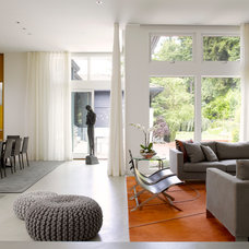 Contemporary Living Room by Prentiss Architects