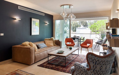 Vintage Homes Around the World Houzz Tour In Tel Aviv a Warmly Modern Pied Terre