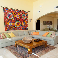 Mediterranean Living Room by Staged for Perfection