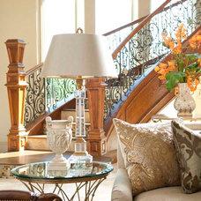Mediterranean Living Room by AVID Associates LLC