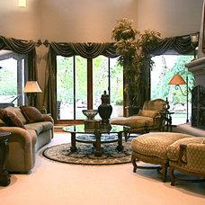 Mediterranean Living Room by Chimera Interior Design