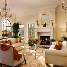 Mediterranean Living Room by Giffin & Crane General Contractors, Inc.