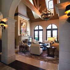 Mediterranean Living Room by Group 3