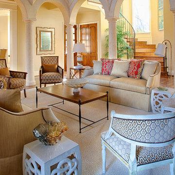 Mediterranean-Inspired Villa