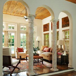 Living Room Pillar Arch Houzz