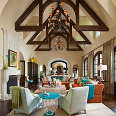 Mediterranean Living Room by Astleford Interiors, Inc.