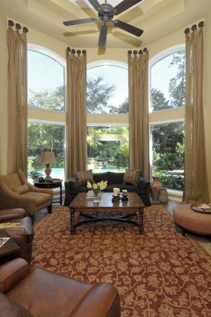 Mediterranean Living Room by Carla Aston | Interior Designer
