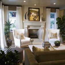 Mediterranean Living Room by D for Design