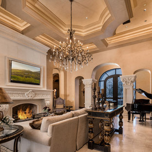 Most Popular Mediterranean Living Room Design Ideas Remodeling