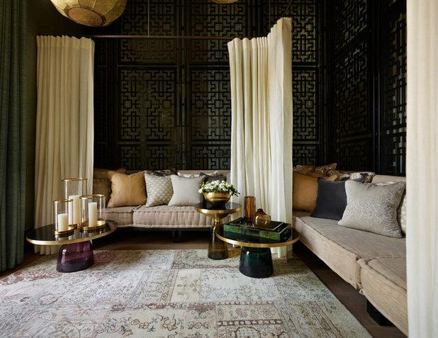 Средиземноморский Гостиная Mediterranean Living Room