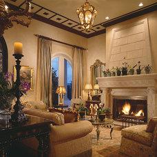 Mediterranean Living Room by Marc-Michaels Interior Design