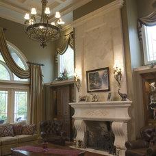 Mediterranean Living Room by Nitti Development
