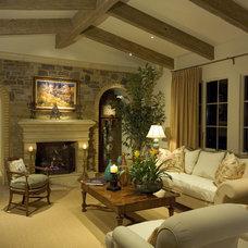 Mediterranean Living Room by Romanza Interior Design