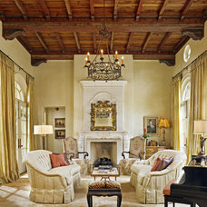 Mediterranean Living Room by Shiflet Group Architects