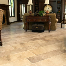 Mediterranean Living Room by Tile-Stones