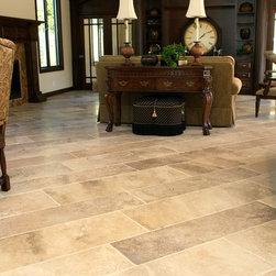 Travertine Floor Living Room Design Ideas Pictures