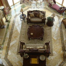 Mediterranean Living Room by Turtle Beach Construction & Remodeling