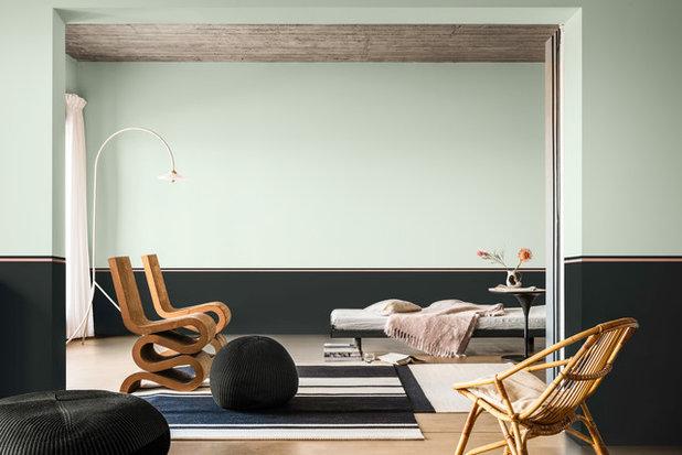 Modern Vardagsrum by Dulux