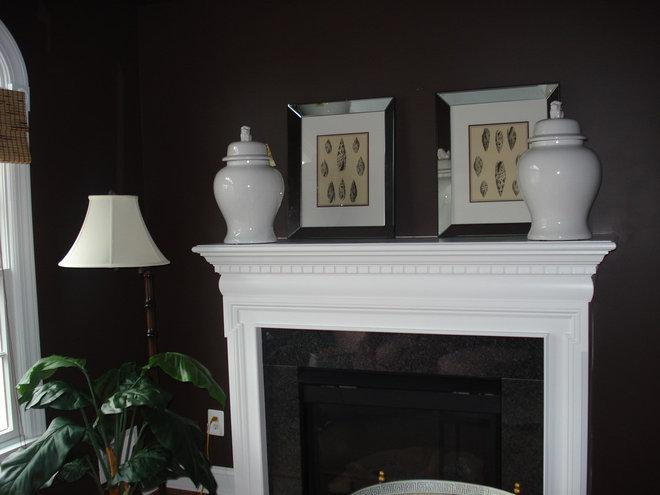 Traditional Living Room by Megan Smythe Design