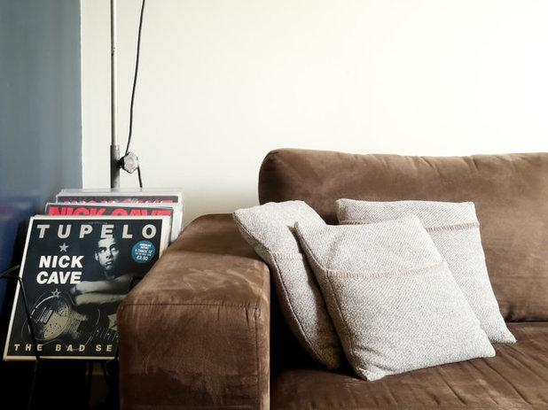 Modern Wohnbereich by Kate Hansen Photography
