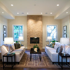 Modern Living Room by KCS, Inc.