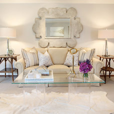 Contemporary Living Room by Marie Flanigan Interiors