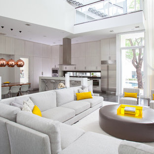 Rose Gold Living Room Ideas & Photos | Houzz