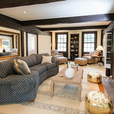 Traditional Living Room by Passacantando Architects AIA