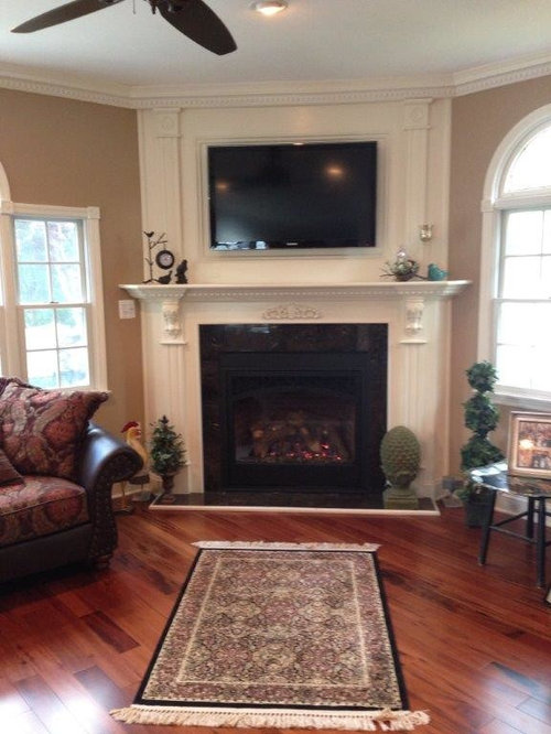Mendota DXV45, Direct Vent Gas Fireplace 23833