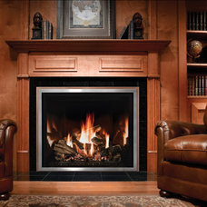 Traditional Living Room by Mendota Hearth