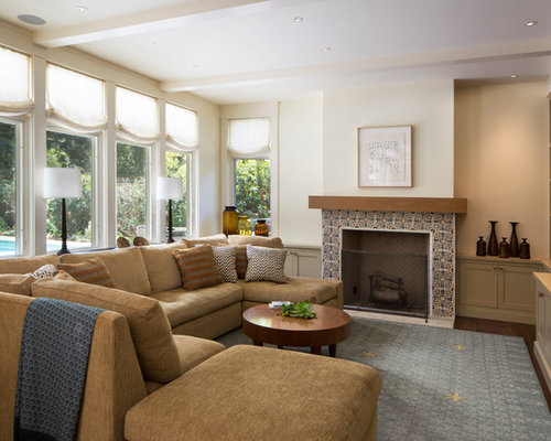 Light Brown Couch Home Design Ideas, Pictures, Remodel And