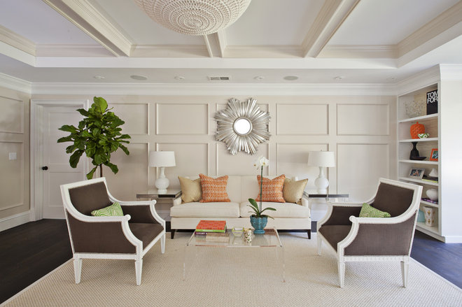 Contemporary Living Room by Fiorella Design