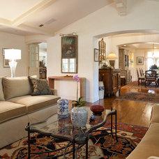 Traditional Living Room MENLO PARK MAKE OVER