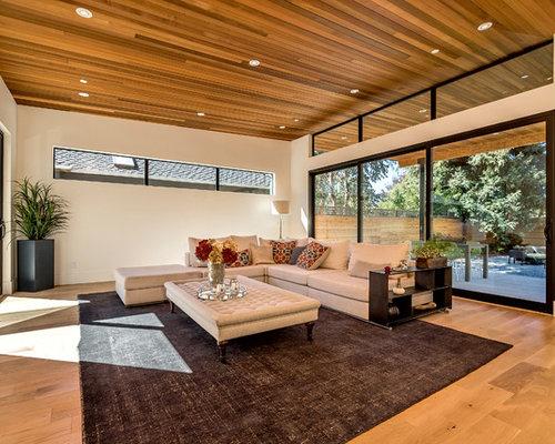 contemporary living design ideas renovations photos. Black Bedroom Furniture Sets. Home Design Ideas