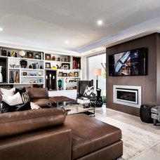 Contemporary Living Room by Moda Interiors