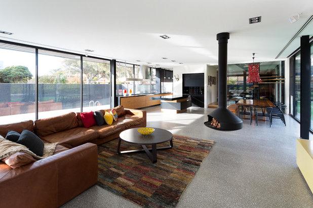 Contemporary Living Room by Jasmine McClelland Design