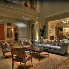 Mediterranean Living Room by Jeff Fotheringill