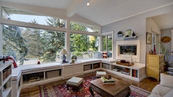 Mercer Island Residence - Living room