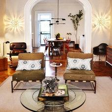 Eclectic Living Room Mercer Street