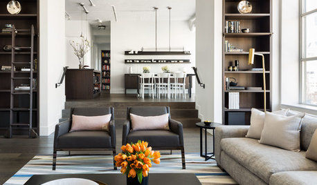 Houzz Tour: An Industrial Penthouse Apartment in a Converted Warehouse